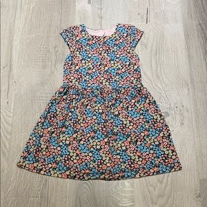 Carter's Flower Print w/ Heart Cut Out on Back
